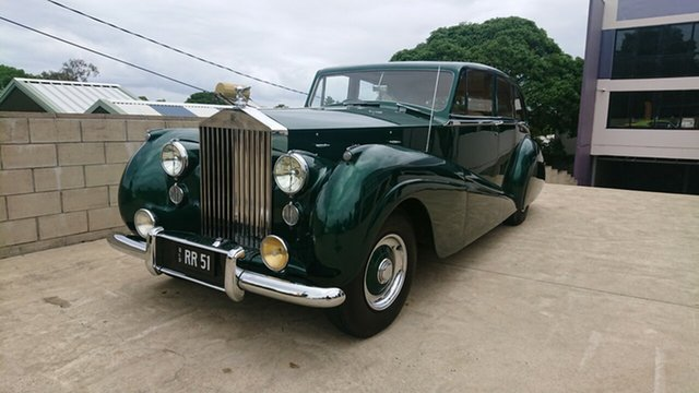 Used Rolls-Royce Park Ward  , 1951 Rolls-Royce Park Ward Emerald Green 4 Speed Manual Sedan