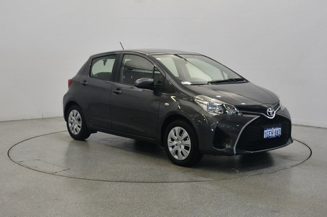 Used Toyota Yaris NCP130R Ascent, 2016 Toyota Yaris NCP130R Ascent Grey 4 Speed Automatic Hatchback