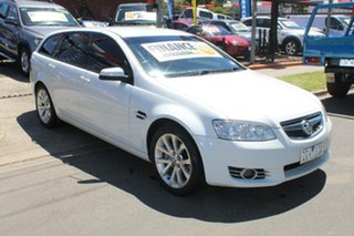 2011 Holden Commodore VE II MY12 Equipe White 6 Speed Automatic Sportswagon.