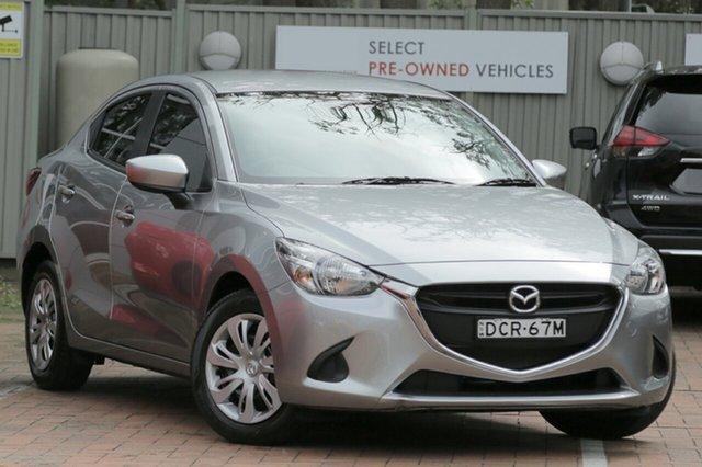 Used Mazda 2 DL2SAA Neo SKYACTIV-Drive, 2015 Mazda 2 DL2SAA Neo SKYACTIV-Drive Charcoal 6 Speed Sports Automatic Sedan