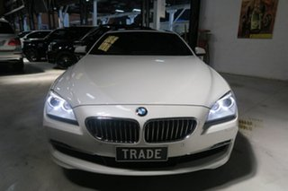 2012 BMW 640i F13 MY0312 Steptronic White 8 Speed Sports Automatic Coupe