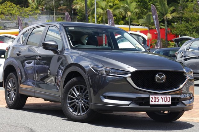 Demo Mazda CX-5 KF4WLA Touring SKYACTIV-Drive i-ACTIV AWD, 2018 Mazda CX-5 KF4WLA Touring SKYACTIV-Drive i-ACTIV AWD Machine Grey 6 Speed Sports Automatic