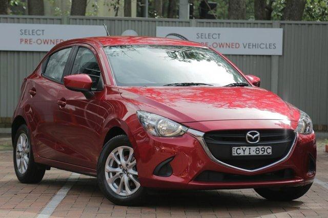 Used Mazda 2 DJ2HAA Maxx SKYACTIV-Drive, 2014 Mazda 2 DJ2HAA Maxx SKYACTIV-Drive Red 6 Speed Sports Automatic Hatchback