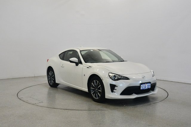 Used Toyota 86 ZN6 GT, 2016 Toyota 86 ZN6 GT White 6 Speed Sports Automatic Coupe