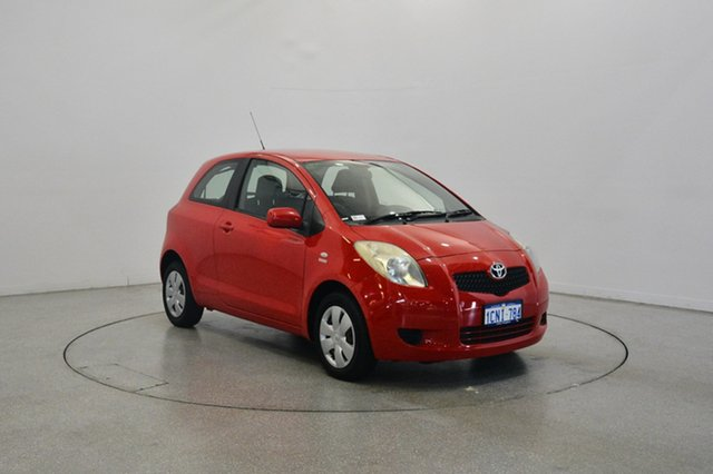 Used Toyota Yaris NCP90R YR, 2007 Toyota Yaris NCP90R YR Red 4 Speed Automatic Hatchback