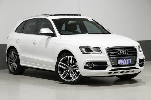 Used Audi SQ5 8R 3.0 TDI Quattro, 2013 Audi SQ5 8R 3.0 TDI Quattro White 8 Speed Automatic Wagon
