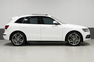 2013 Audi SQ5 8R 3.0 TDI Quattro White 8 Speed Automatic Wagon
