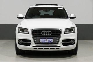 2013 Audi SQ5 8R 3.0 TDI Quattro White 8 Speed Automatic Wagon.