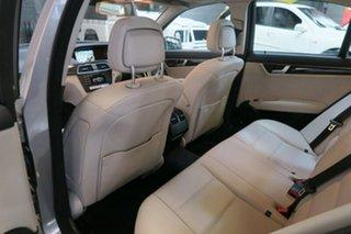 2012 Mercedes-Benz C250 W204 MY13 BlueEFFICIENCY 7G-Tronic + Avantgarde Silver 7 Speed