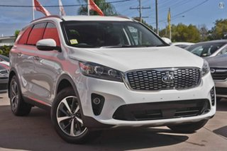2018 Kia Sorento UM MY19 SLi AWD Clear White 8 Speed Sports Automatic Wagon.