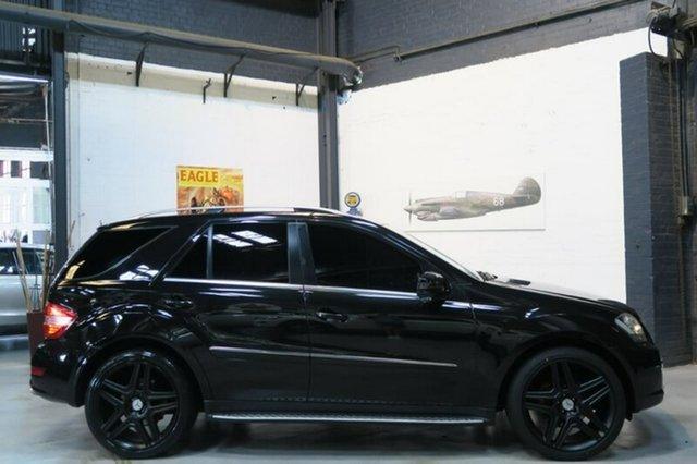 Used Mercedes-Benz ML350 CDI W164 MY11 AMG Sports, 2011 Mercedes-Benz ML350 CDI W164 MY11 AMG Sports Black 7 Speed Sports Automatic Wagon