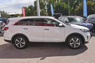 2018 Kia Sorento UM MY19 SLi AWD Clear White 8 Speed Sports Automatic Wagon