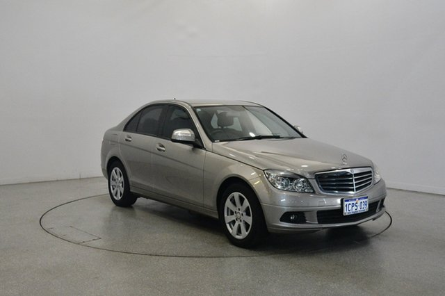 Used Mercedes-Benz C200 Kompressor W204 Classic, 2007 Mercedes-Benz C200 Kompressor W204 Classic Silver 5 Speed Sports Automatic Sedan