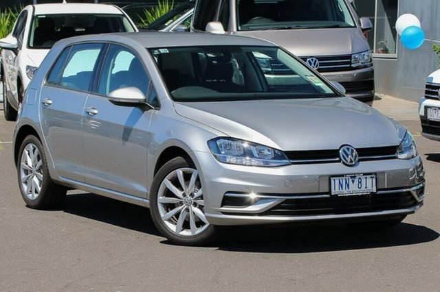Used Volkswagen Golf 7.5 MY18 110TSI DSG Comfortline, 2018 Volkswagen Golf 7.5 MY18 110TSI DSG Comfortline Silver 7 Speed Sports Automatic Dual Clutch