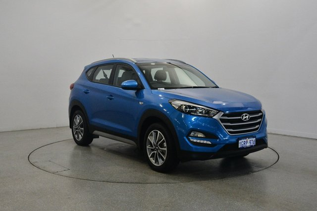 Used Hyundai Tucson TL MY17 Active X 2WD, 2017 Hyundai Tucson TL MY17 Active X 2WD Blue 6 Speed Sports Automatic Wagon