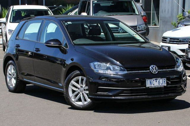 Used Volkswagen Golf 7.5 MY18 110TSI DSG, 2018 Volkswagen Golf 7.5 MY18 110TSI DSG Black 7 Speed Sports Automatic Dual Clutch Hatchback