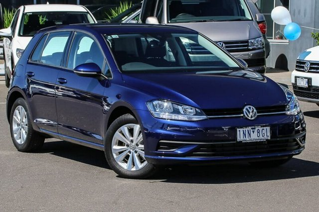 Used Volkswagen Golf 7.5 MY18 110TSI DSG Trendline, 2018 Volkswagen Golf 7.5 MY18 110TSI DSG Trendline Blue 7 Speed Sports Automatic Dual Clutch