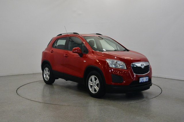 Used Holden Trax TJ MY16 LS, 2016 Holden Trax TJ MY16 LS Red 6 Speed Automatic Wagon