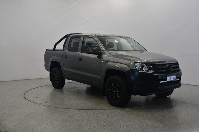 Used Volkswagen Amarok 2H MY13 TDI400 4Mot, 2013 Volkswagen Amarok 2H MY13 TDI400 4Mot Grey 6 Speed Manual Utility