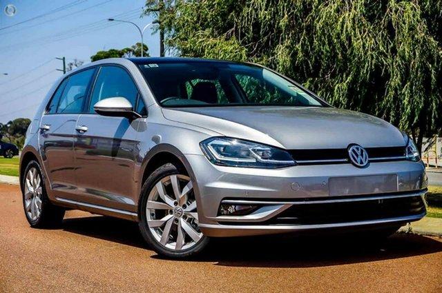 Demo Volkswagen Golf 7.5 MY18 110TDI DSG Highline, 2018 Volkswagen Golf 7.5 MY18 110TDI DSG Highline Silver 7 Speed Sports Automatic Dual Clutch