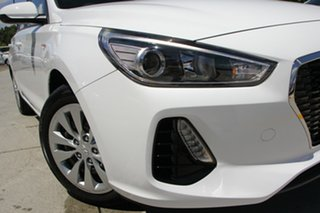 2018 Hyundai i30 PD MY19 Go Polar White 6 Speed Manual Hatchback.