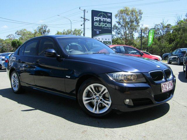 Used BMW 320d E90 MY09 Executive, 2009 BMW 320d E90 MY09 Executive Blue 6 Speed Auto Steptronic Sedan