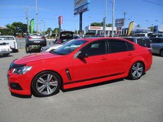 2013 Holden Commodore VF MY14 SV6 Red 6 Speed Manual Sedan.