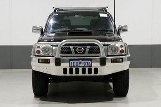 2014 Nissan Navara D22 Series 5 ST-R (4x4) Black 5 Speed Manual Dual Cab Pick-up.