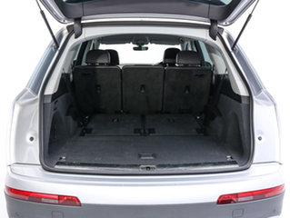 2017 Audi Q7 4M MY17 3.0 TDI Quattro (160KW) Silver 8 Speed Automatic Tiptronic Wagon