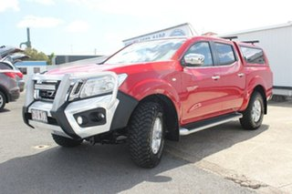 2015 Nissan Navara D23 ST Red 7 Speed Sports Automatic Utility.