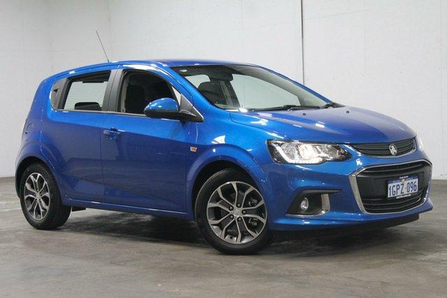 Used Holden Barina TM MY18 LS, 2018 Holden Barina TM MY18 LS Blue 6 Speed Automatic Hatchback