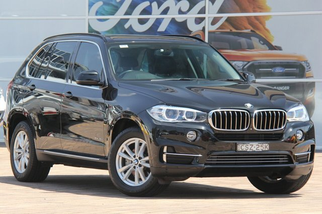 Used BMW X5 F15 xDrive25d, 2014 BMW X5 F15 xDrive25d Black 8 Speed Automatic SUV