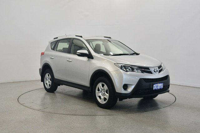 Used Toyota RAV4 ASA44R MY14 GX AWD, 2014 Toyota RAV4 ASA44R MY14 GX AWD Silver 6 Speed Sports Automatic Wagon