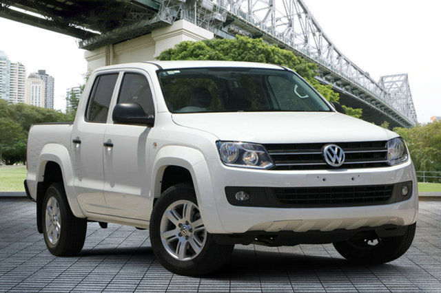 Used Volkswagen Amarok 2H MY17 TDI420 4MOTION Perm Core, 2016 Volkswagen Amarok 2H MY17 TDI420 4MOTION Perm Core White 8 Speed Automatic Cab Chassis