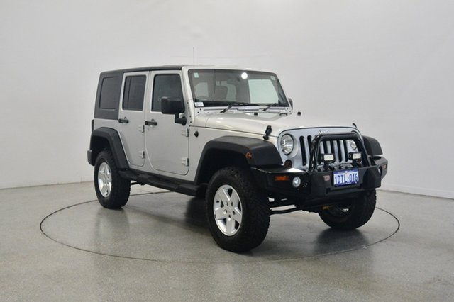Used Jeep Wrangler JK MY2010 Unlimited Sport, 2010 Jeep Wrangler JK MY2010 Unlimited Sport Silver 4 Speed Automatic Softtop