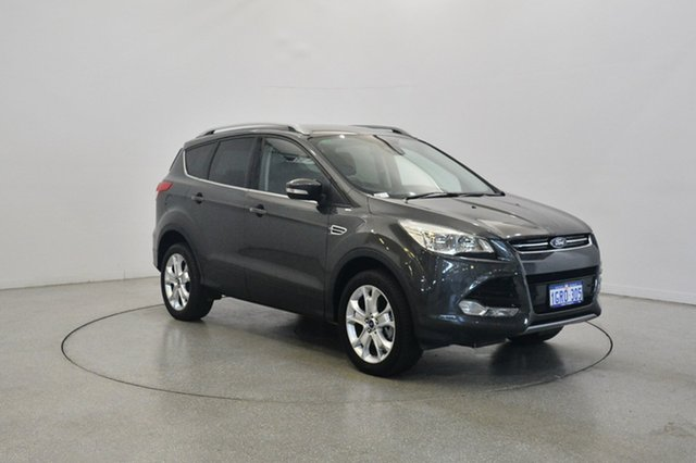 Used Ford Kuga TF MY16.5 Trend AWD, 2016 Ford Kuga TF MY16.5 Trend AWD Magnetic 6 Speed Sports Automatic Wagon