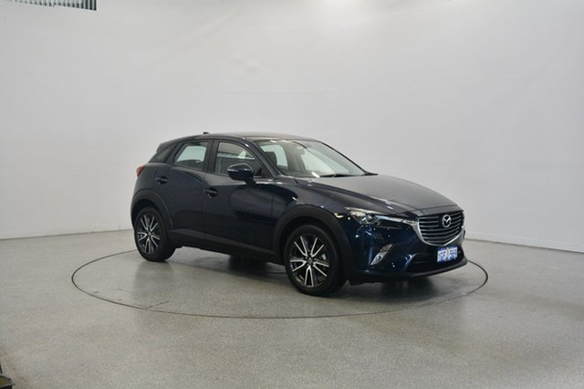 Used Mazda CX-3 DK2W7A sTouring SKYACTIV-Drive, 2016 Mazda CX-3 DK2W7A sTouring SKYACTIV-Drive Blue 6 Speed Sports Automatic Wagon
