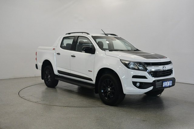 Used Holden Colorado RG MY18 Z71 Pickup Crew Cab, 2017 Holden Colorado RG MY18 Z71 Pickup Crew Cab White 6 Speed Manual Utility
