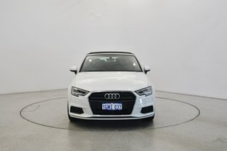 2017 Audi A3 8V MY18 S tronic White 7 Speed Sports Automatic Dual Clutch Cabriolet