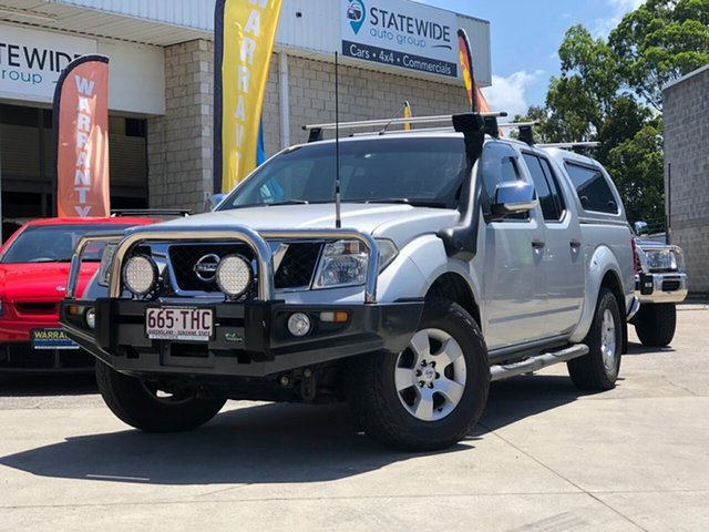 Used Nissan Navara D40 ST-X, 2009 Nissan Navara D40 ST-X Silver 5 Speed Automatic Utility