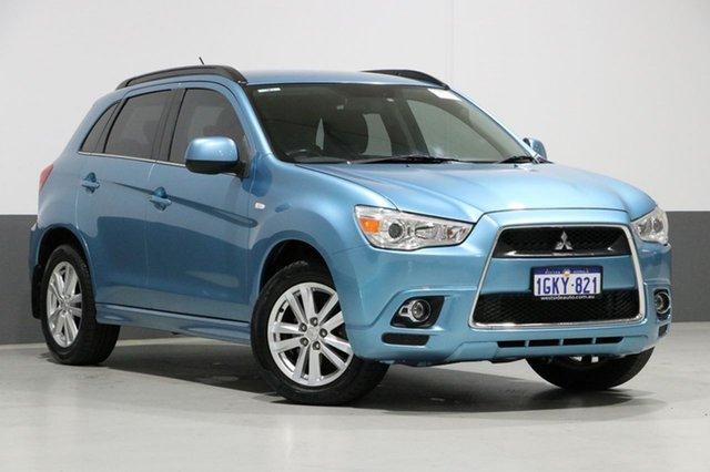 Used Mitsubishi ASX XA MY12 Aspire (4WD), 2011 Mitsubishi ASX XA MY12 Aspire (4WD) Blue Continuous Variable Wagon