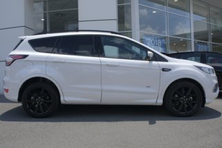 2018 Ford Escape ZG 2018.75MY ST-Line AWD White Platinum 6 Speed Sports Automatic Wagon.