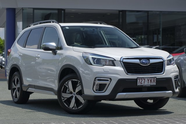 Demo Subaru Forester S5 MY19 2.5i-S CVT AWD, 2018 Subaru Forester S5 MY19 2.5i-S CVT AWD White Crystal 7 Speed Constant Variable Wagon