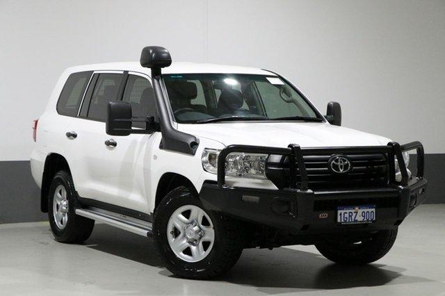 Used Toyota Landcruiser VDJ200R MY16 GX (4x4), 2016 Toyota Landcruiser VDJ200R MY16 GX (4x4) White 6 Speed Automatic Wagon