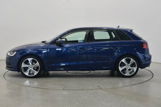 2013 Audi A3 8P MY13 Attraction Sportback S tronic Blue 7 Speed Sports Automatic Dual Clutch