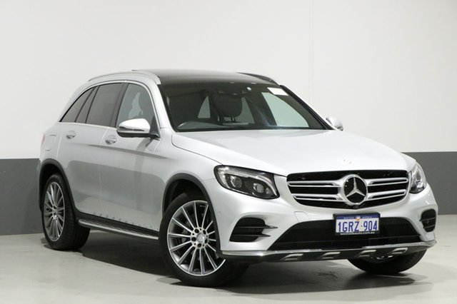 Used Mercedes-Benz GLC250 253 MY17 , 2017 Mercedes-Benz GLC250 253 MY17 Iridium Silver 9 Speed Automatic Wagon