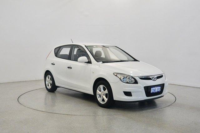 Used Hyundai i30 FD MY11 SX, 2010 Hyundai i30 FD MY11 SX White 4 Speed Automatic Hatchback