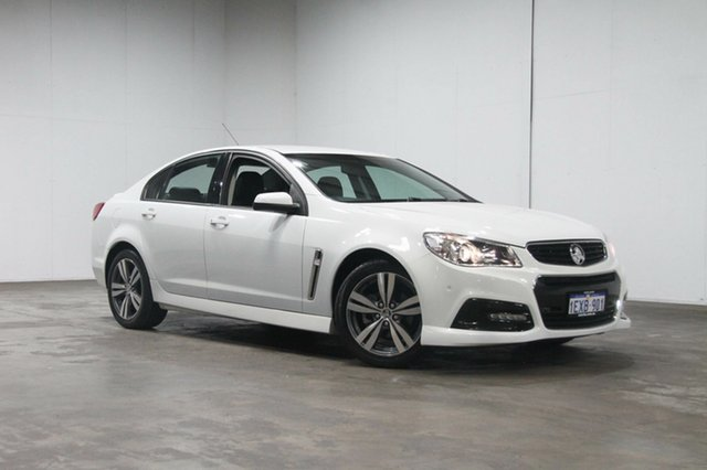 Used Holden Commodore VF MY15 SV6, 2015 Holden Commodore VF MY15 SV6 White 6 Speed Sports Automatic Sedan