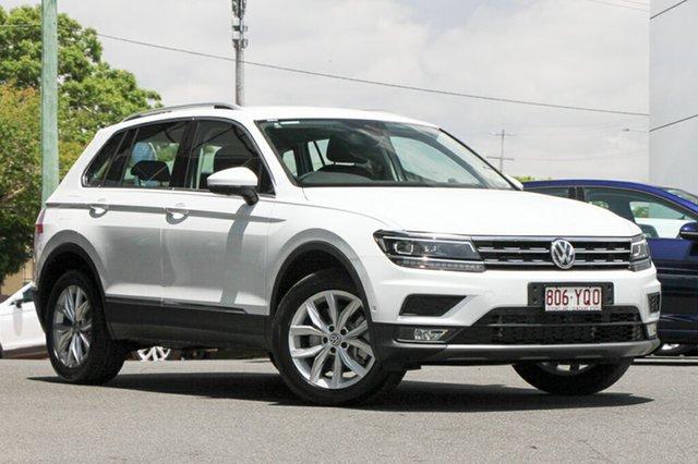 Demo Volkswagen Tiguan 5N MY19 132TSI DSG 4MOTION Comfortline, 2018 Volkswagen Tiguan 5N MY19 132TSI DSG 4MOTION Comfortline Pure White 7 Speed