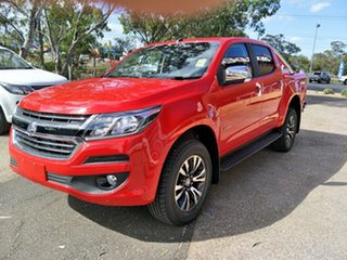 2018 Holden Colorado RG MY19 LTZ Pickup Crew Cab Absolute Red.